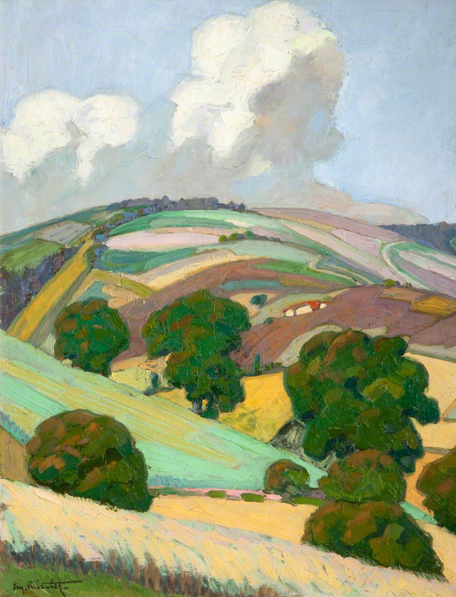 Riboulet, Eugene, 1883-1972; June in the Cevennes