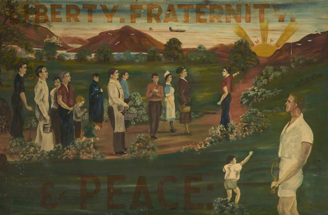 unknown artist; Liberty Fraternity & Peace*