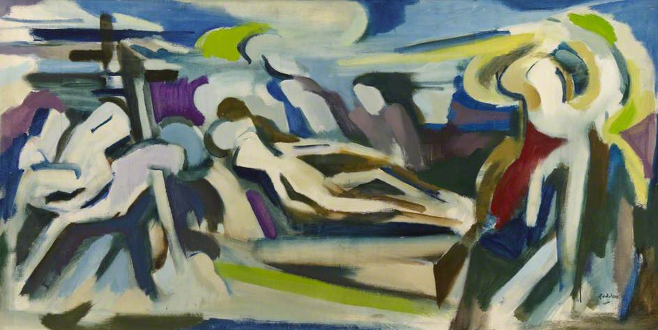 Roddon, Guy, 1919-2006; Deposition, Burial and Resurrection of Christ